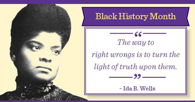 ida b wells biography essay Nabj and the medill school of journalism at northwestern university jointly and proudly each year give the prestigious ida b wells award to give tangible and highly visible recognition to an individual or group of individuals and their company.