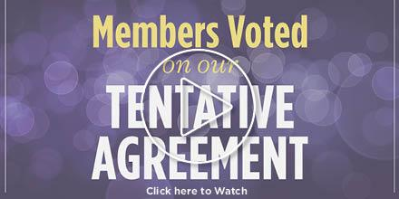Members Ratify Tentative Agreement