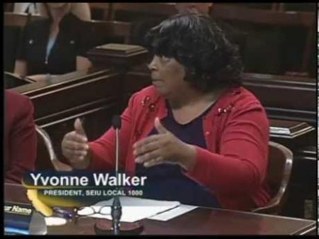 President Walker testifies on state worker health plans
