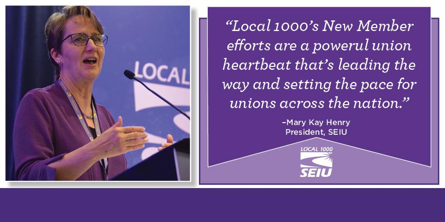 New Member Program Launched - SEIU Local 1000
